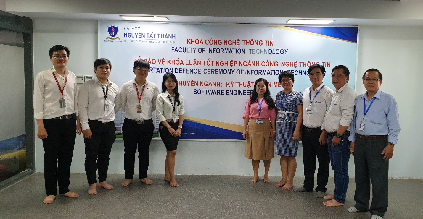 UNIVERSITY GRADUATION THESIS DEFENCE CEREMONY IN 2020