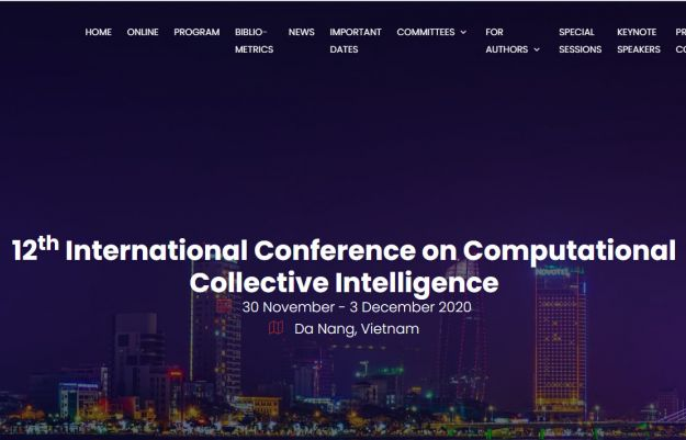 12th International Conference on Computational Collective Intelligence